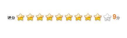 js特效星星打分特效代码适用于文章点评网站评论打分星级评分效果