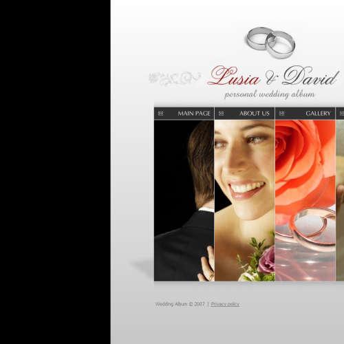 全站flash婚庆网站模板 flash婚礼网站源码全站源文件