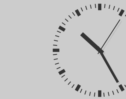 flash圆形动画时钟表当前时间转动走势特效代码