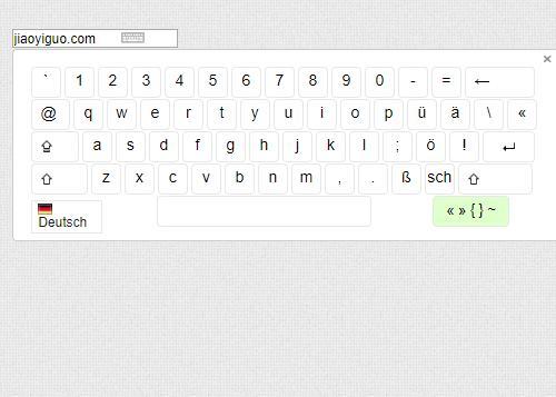 jQuery keyboard点击弹出虚拟键盘输入text文本框文字内容特效代码