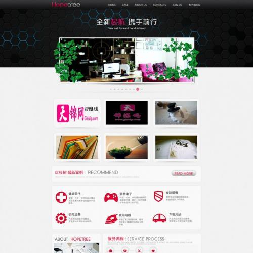 极品设计策划公司源码 网络设计公司源码建站工作室源码