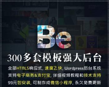 Betheme汉化主题wordpress网站源码 html5企业商城外贸模板
