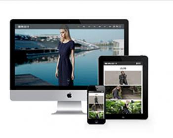 服装公司网站源码 模特服装设计展现类织梦模板(带手机版)
