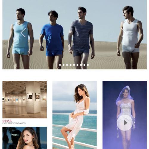 织梦dedecms高档服装设计定制外贸公司网站模板源码