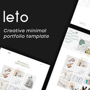 简洁创意的设计公司作品展示html5模板代码