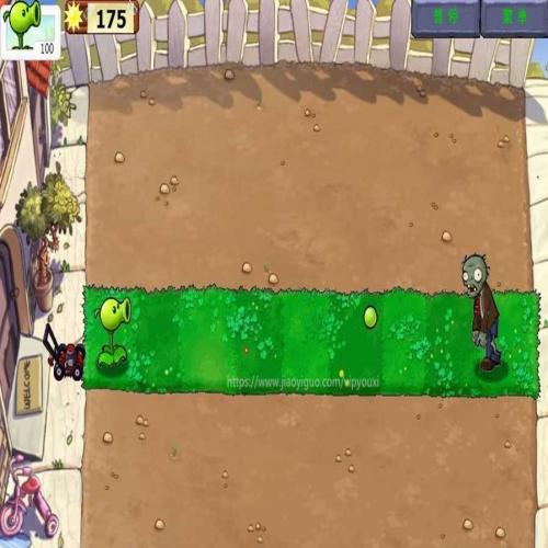 HTML5植物大战僵尸中文版在线网页小游戏源码