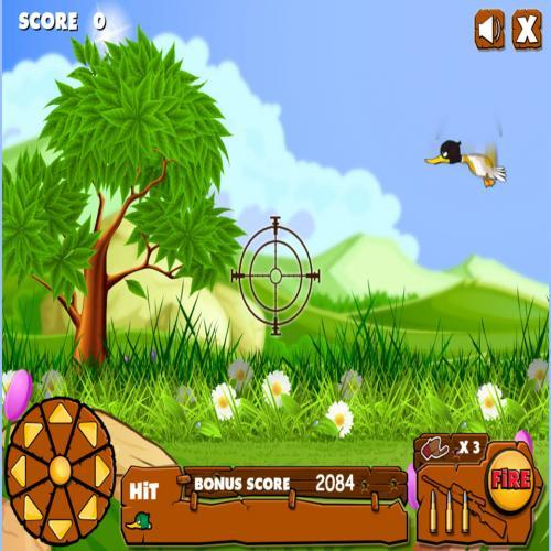 HTML5 canvas实现的射击鸭子小游戏源码 在线网页小游戏源码